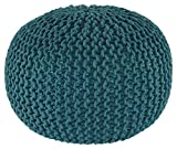 Product review for Signature Design by Ashley Ashley Furniture A1000373 Nils Pouf, Teal