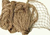 4' X 5' Knotted Ghillie Netting (Tan499)