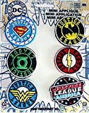 Application DC Comics Originals Justice League 6 Pat Ch Set Novelty, 2""