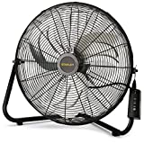 Lasko Stanley Max Performance High Velocity Floor Fan, 1-Pack, 655650