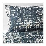 Ikea Skogslonn Full Queen Duvet cover and pillowcase Black Multicolor 103.375.15