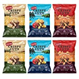 Field Trip, Crispy Cuts Sampler, Pork Rinds, Paleo, Keto Snacks, Low Carb, High Protein, 6 Pack Assortment Bundle