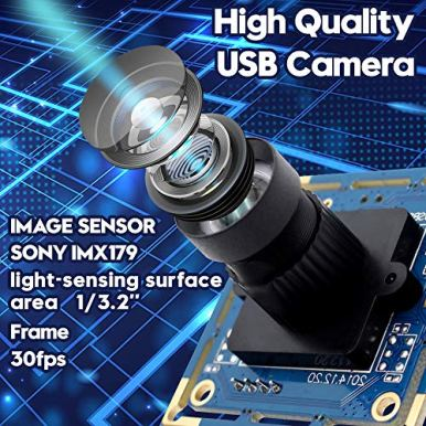 8-MP-USB-Camera-Module-with-180-Degree-Fisheye-Lens-Webcam-Super-HD-3264X2448-Embeded-USB-Camera-for-IndustrialUSB-with-Camera-for-Linux-Windows-Android-Mini-Web-Cam-PlugPlay-OTG-Supported-Webcamera