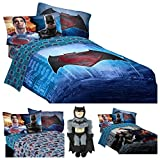 Batman v Superman Dawn of Justice 5 Piece Bedding Comforter Set - Twin