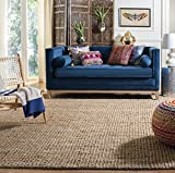 Safavieh Natural Fiber Collection NF447A Hand Woven Natural Jute Area Rug (9' x 12')