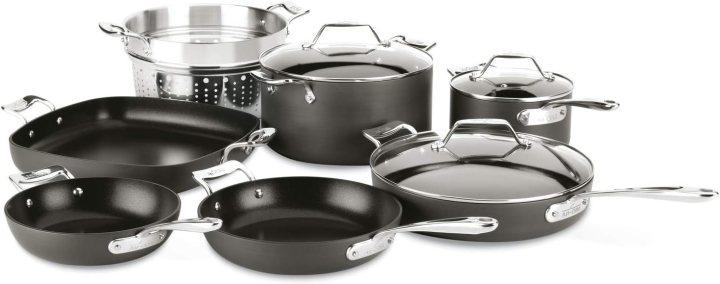All Clad Nonstick Pan Set