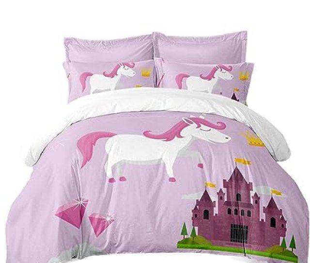 Unicorn Bedroom Decor D Bedding Sets Twin Duvet Cover Bedloth Bed Coverhome Decor