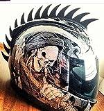 Dirtbike Motorcross Mohawks Helmets Warhawk Mohawk Saw Helmet Not Included