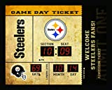 Team Sports America Pittsburgh Steelers Bluetooth Scoreboard Wall Clock