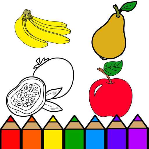 Amazon Com Fruits Coloring Pages For Kids Appstore For Android