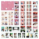 Cianowegy 54PCS BTS LOMO Cards Bangtan Boys Merchandise of Postcards MAP of The Soul Persona Gifts for Army Kids(Style A)