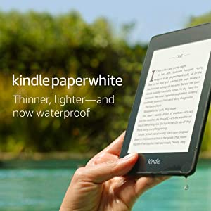 Kindle Paperwhite (10th gen) - with Built-in Light, Waterproof, 8 GB, WiFi