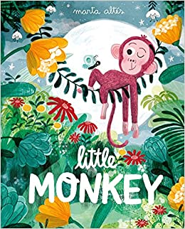 My recommendations in picture books about animals. Little Monkey by Marta Altes cover