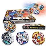 Bey Burst Evolution Switchstrike Battle Tower – Includes ,Four Battling Tops, & Two Launchers & Two Launcher Grip – Age 8+