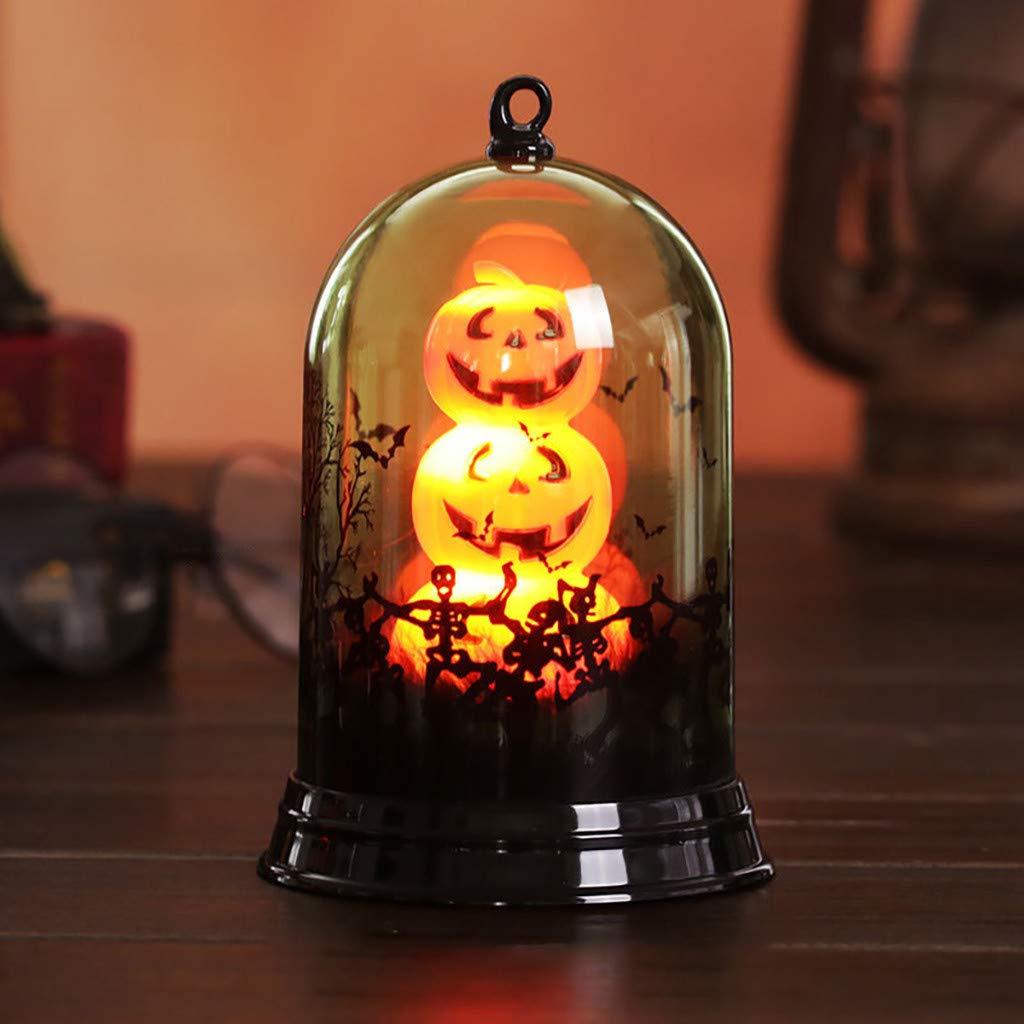 lampara de cristal Halloween