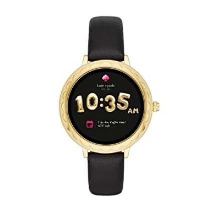Image result for Kate Spade New York Scallop Touchscreen Smartwatch, Gold-tone Stainless Steel