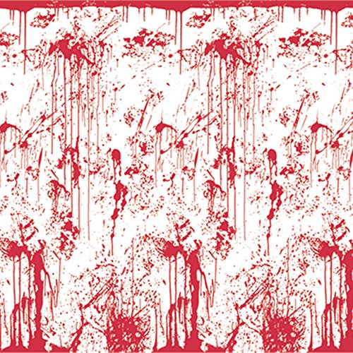 Beistle 00710 Bloody Wall Backdrop - Pack of 6