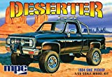 1984 GMC Pickup'Deserter' - Molded in White - Plastic Model Kit, Paint and glue required,