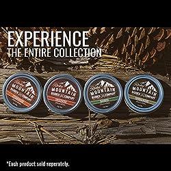 Beard Balm - Rocky Mountain Barber - 100% Natural - Premium Wax Blend with Cedarwood Scent, Nutrient Rich Bees Wax, Jojoba, Tea Tree, Coconut Oil  Image 3