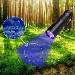 Black-Light-UV-Flashlight-UV-LightVansky-Blacklight-12-LED-Ultraviolet-Urine-Detector-For-DogCatPet-Urine-Dry-Stains-and-Bed-Bug-On-CarpetsRugsFloorMatching-with-Pet-Odor-Eliminator