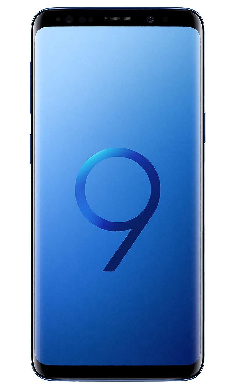 .Samsung Galaxy S9 (Coral Blue, 4GB RAM, 64GB Storage)
