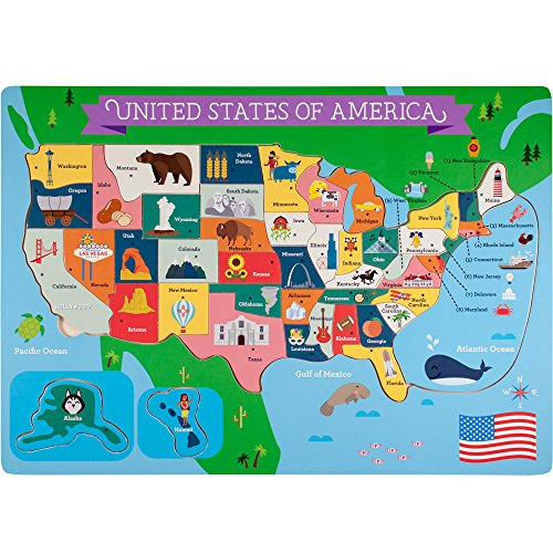 Professor Poplar\'s Fifty-Nifty States United States of ...