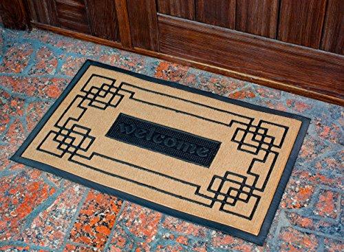Slonser Modern Welcome Mat - Carpet Entrance Rug Front Door Mat ...