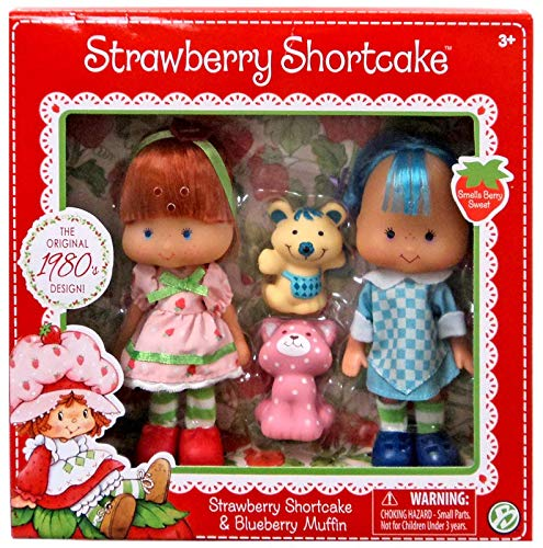The Bridge Direct Strawberry Shortcake & Blueberry Muffin Doll