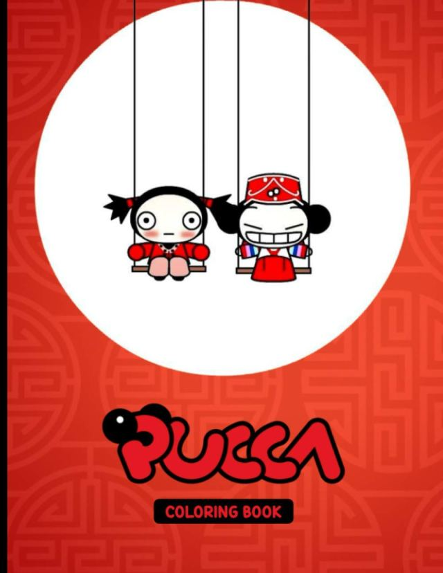 Pucca Coloring Book: Funny Coloring Book With 29+ Images For Kids