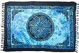 Celtic Flower Sarong (Blue)