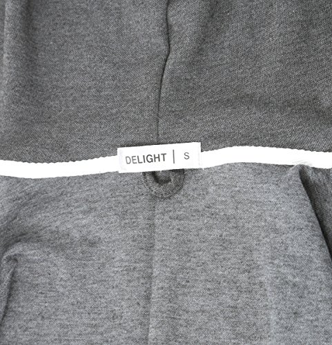 """""""DELIGHT"""" Men's Fashion Fit Full-zip HOODIE with Inner Cell Phone Pocket 18 Fashion Online Shop gifts for her gifts for him womens full figure"""