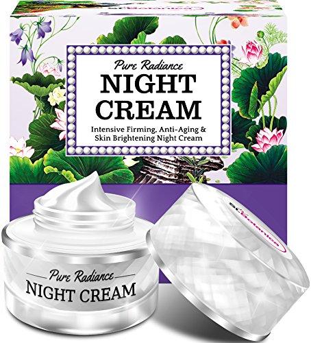 61kBUEkW2vL - StBotanica Pure Radiance Night Cream - Intensive Firming, Anti-Aging & Skin Brightening, 50gm (With Vitamin C, Retinol, Hyaluronic acid, Collagen)
