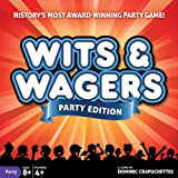 North Star Games Wits & Wagers Board Game | Party Edition, Kid Friendly Party Game and Trivia