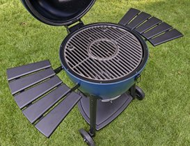 Char-Griller-E56720-AKORN-Kamado-Charcoal-Grill-Pack-of-1-Blue