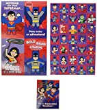Hallmark Kids' Valentines With Stickers (Justice League), Pack of 32 cards