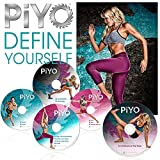 ZOMLAN PiYo DVD, Workout | Pilates/Yoga Workout with Fitness Guide & Nutrition Plan (PiYo)