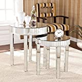 Product review for Harper Blvd Tifton Round Mirrored Nesting Accent Table 2pc Set