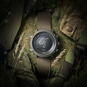 SUUNTO Traverse Alpha Stealth - GPS Outdoor Watch
