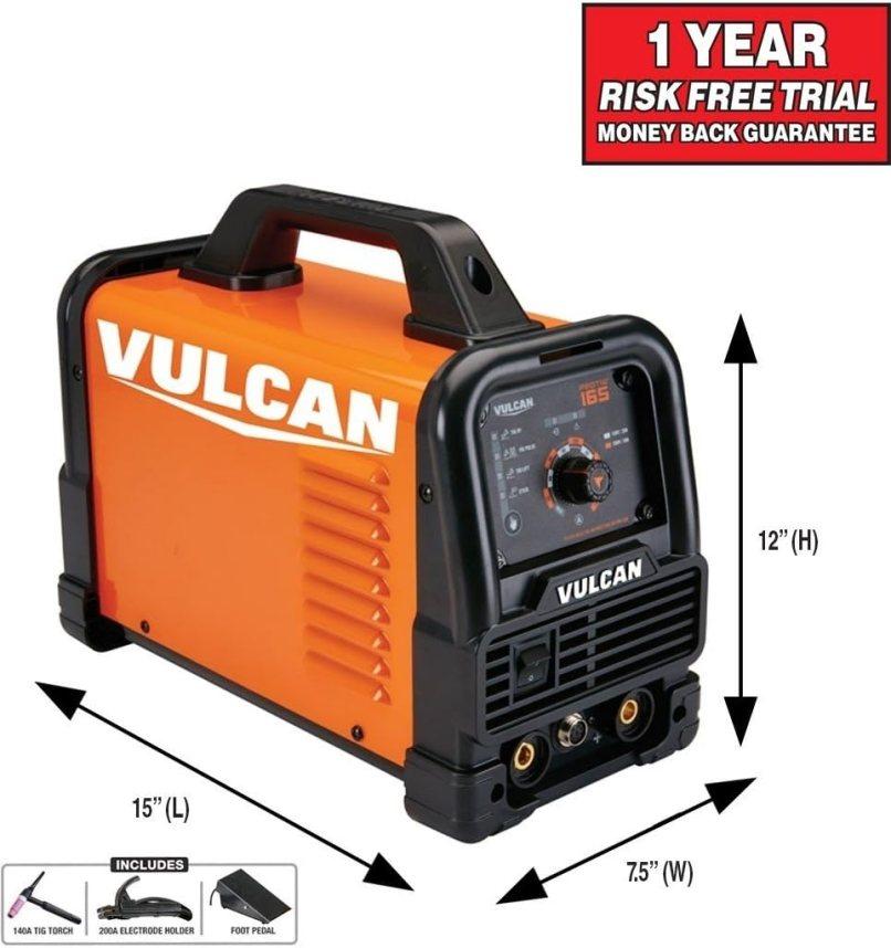 Vulcan Protig 165 Welder Lightweight