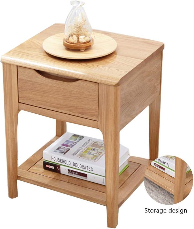 Bedside Tables Solid Wood Living Room Locker Bedroom Partition Drawer Entrance Locker Bed Side Table Color Brown Size 50 32 35cm Amazon Co Uk Kitchen Home