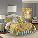 WAVERLY Modern Poetic Quilt Collection, King, Sunshine