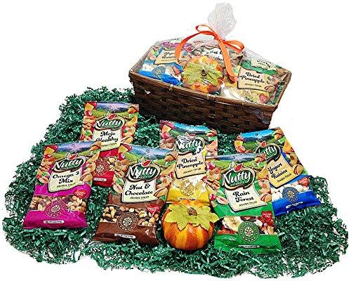 Healthier Nuts & Snacks Autumn Gift Basket ...