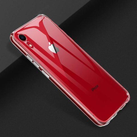 iPhone XR ケースSHINEZONE iPhonexr 6.1インチ ソフトカバー 透明 TPU 耐衝撃 落下防止 防指紋 全面保護カバー(iPhone XRケース クリア)