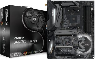 ASROCK AMD X470 Chip Set ATX Motherboard X470 Taichi