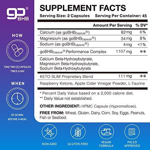 Advanced Keto Fast Diet Pills (BHB+ACV   90 Capsules)-VegePower Keto Slim Pro with Apple Cider Vinegar-Rapid Keto Burn Utilize Fat for Energy/Ketosis, Boost Focus, Manage Cravings for Women Men 7