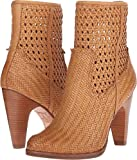 FRYE Women's Celeste Short Woven Tan Woven Soft Full Grain 8.5 B US