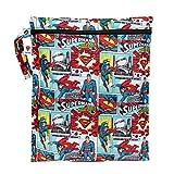 Bumkins DC Comics Zippered Wet Bag, Superman