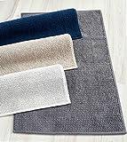 Cottonna 100% Turkish Cotton Loop Bath Rug - Chunky Bath Mat - 20' x 31' - 2 PCS Set - Made in Turkey (Taupe)