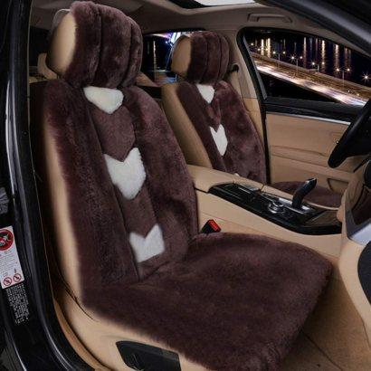 Fur Cushion Seat Cover