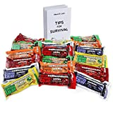 Freccia Rossa Market Millennium Energy Bars Assorted Flavors 18- Pack Including Emergency Guide